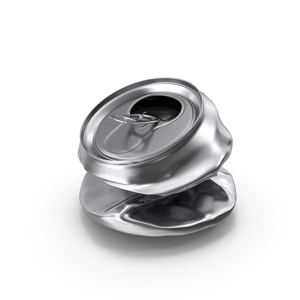 Soda: Crushed Beverage Can PNG & PSD Images