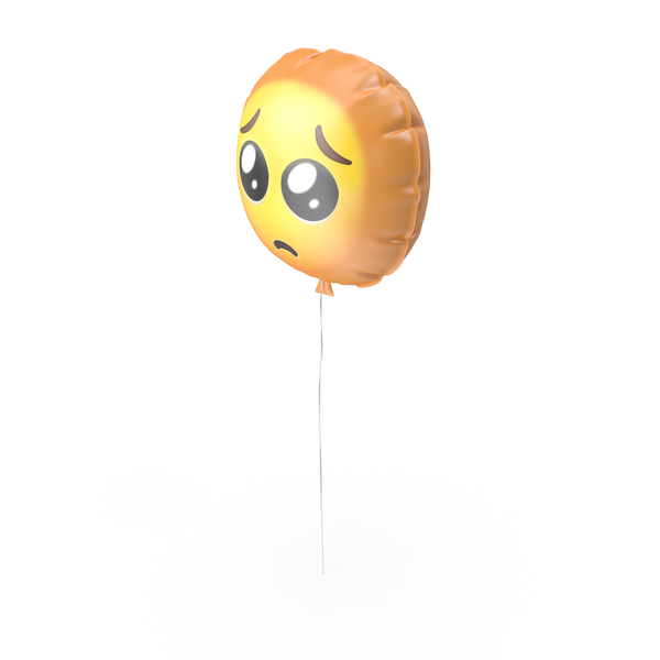 Balloons: Crying Sad Emoji Balloon PNG & PSD Images