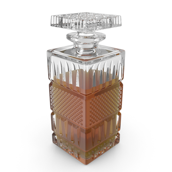 Crystal Whiskey Decanter PNG & PSD Images