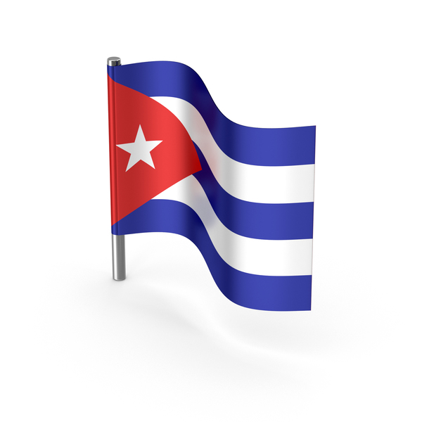 Cuba Cartoon Flag PNG & PSD Images
