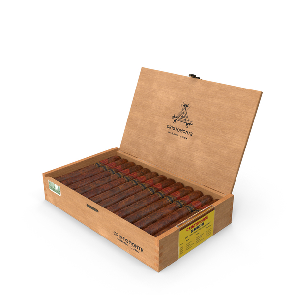 Cuban Cigar Box Open PNG & PSD Images