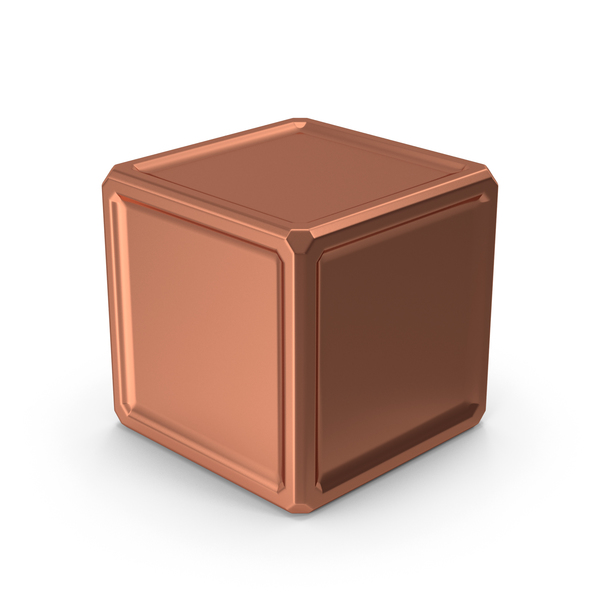 Cube Bronze PNG & PSD Images