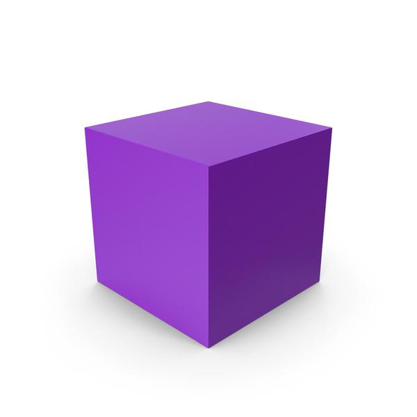 Cube Purple PNG & PSD Images