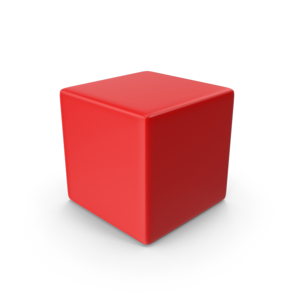 Box: Cube Red PNG & PSD Images