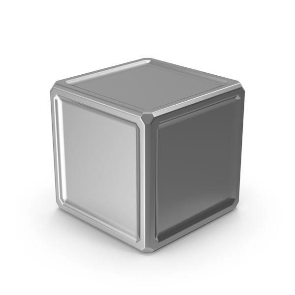 Cube Silver PNG & PSD Images