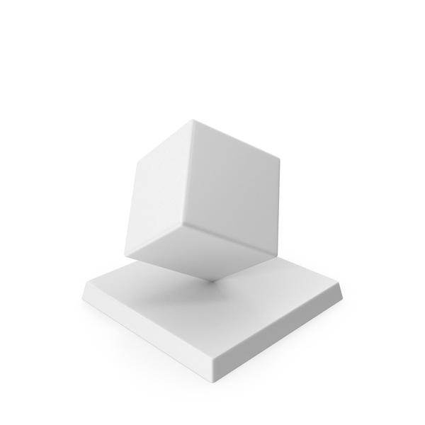 Cube Trophy PNG & PSD Images