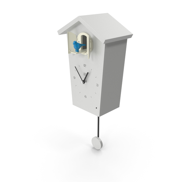 Cuckoo Clock White PNG & PSD Images
