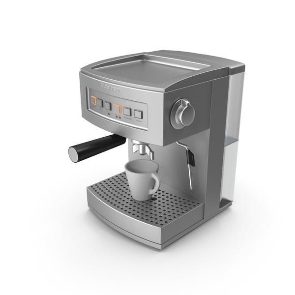 Cuisinart coffeemaker EM200U PNG & PSD Images
