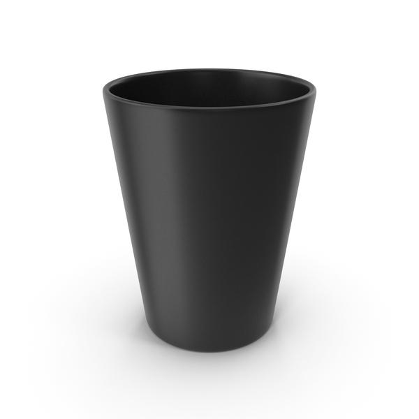 Plastic: Cup Black PNG & PSD Images