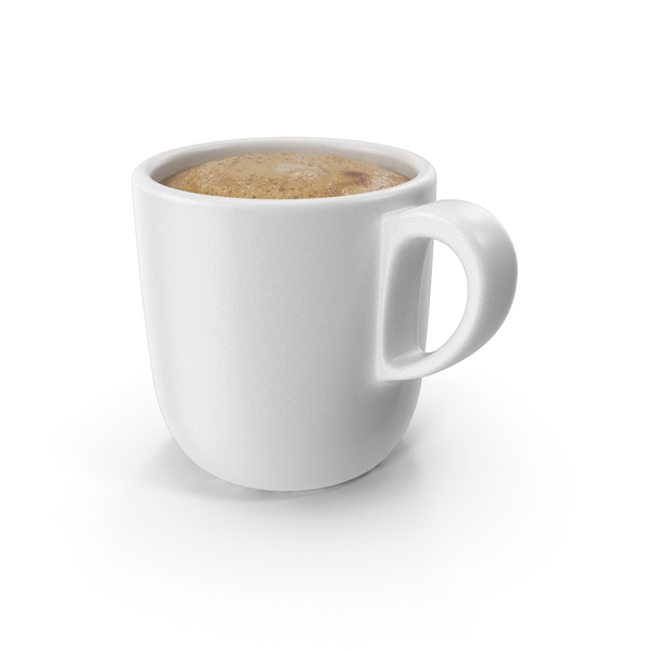 Cappuccino: Cup of Coffee White PNG & PSD Images