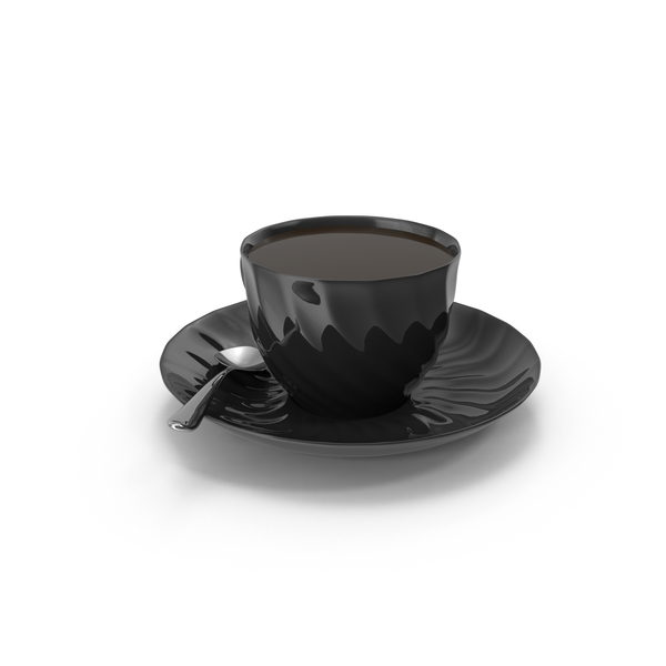 Cup of Tea With Spoon PNG & PSD Images