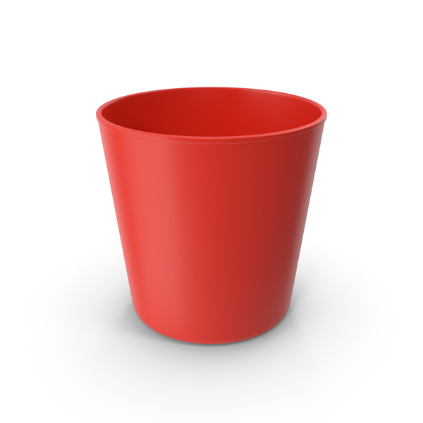 Plastic: Cup Red PNG & PSD Images