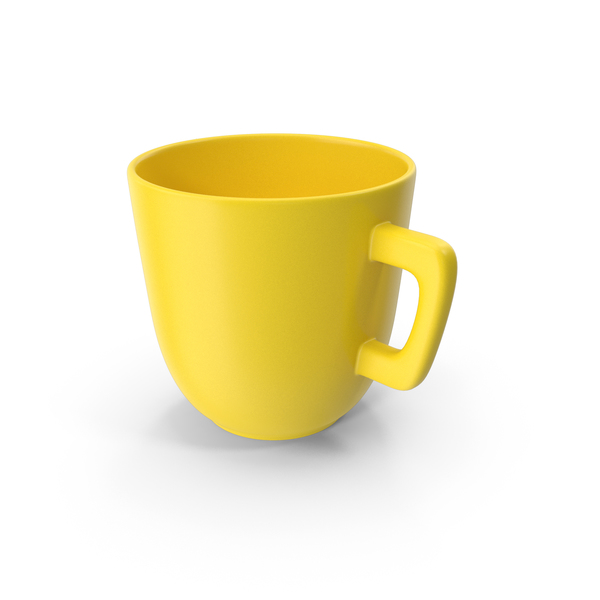Cup Yellow PNG & PSD Images