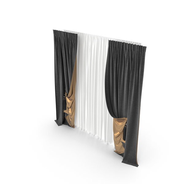 French: Curtain PNG & PSD Images