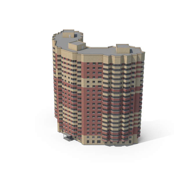 Curved Skyscraper PNG & PSD Images