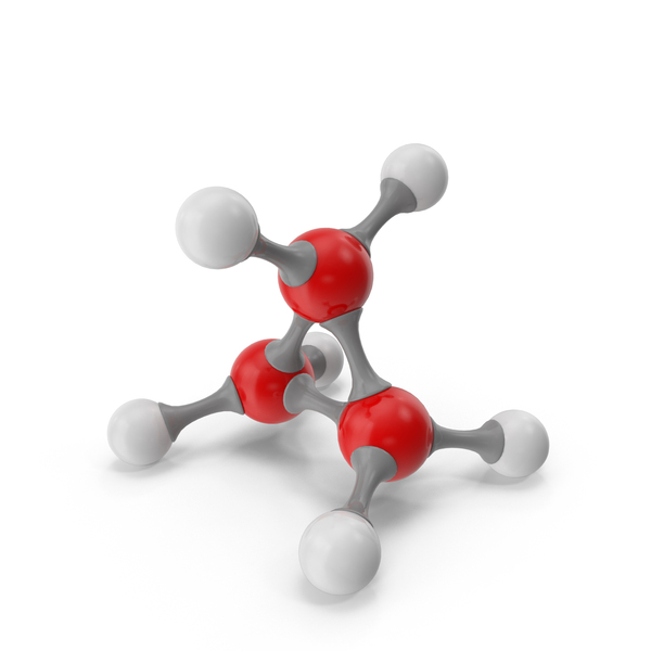 Cyclopropane Molecular Model PNG & PSD Images