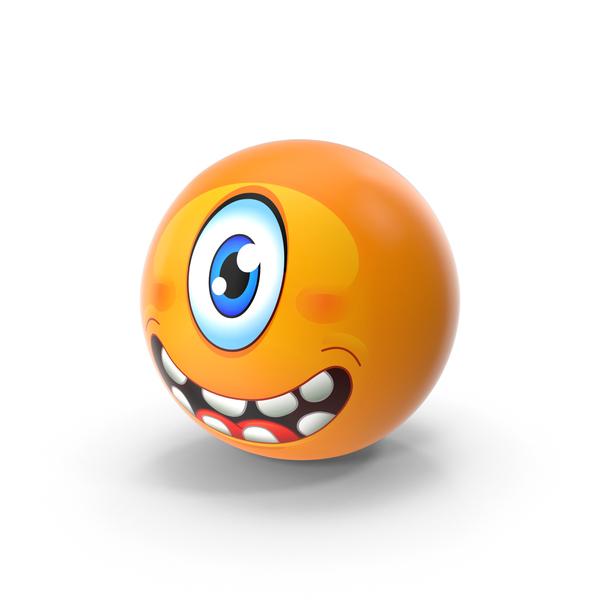 Cyclops Emoji PNG & PSD Images