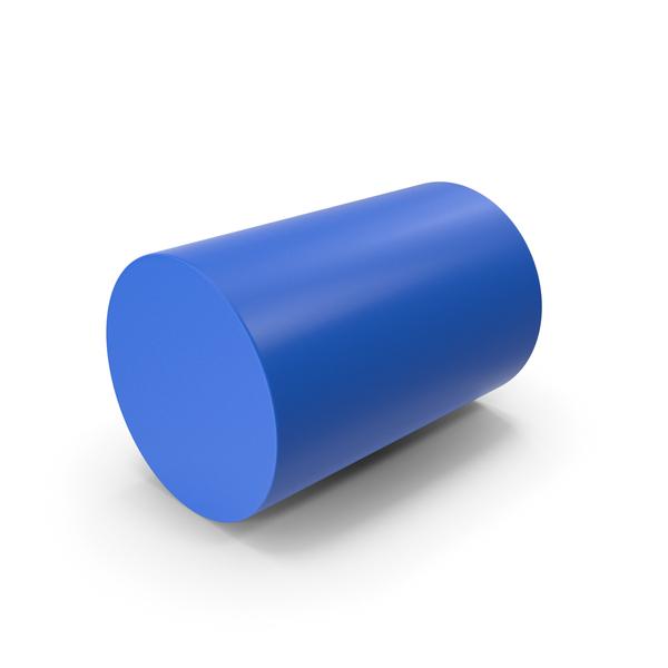 Cylinder Blue PNG & PSD Images