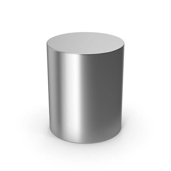 Cylinder Silver PNG & PSD Images