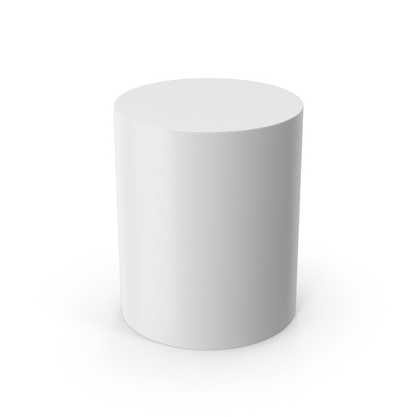 Chair: Cylinder White PNG & PSD Images