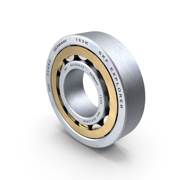 Bearings: Cylindrical Roller Bearing PNG & PSD Images
