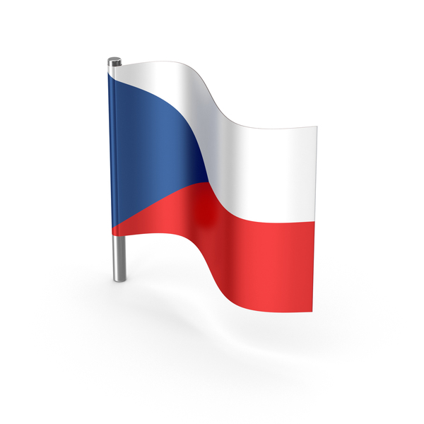 Czech Republic Cartoon Flag PNG & PSD Images