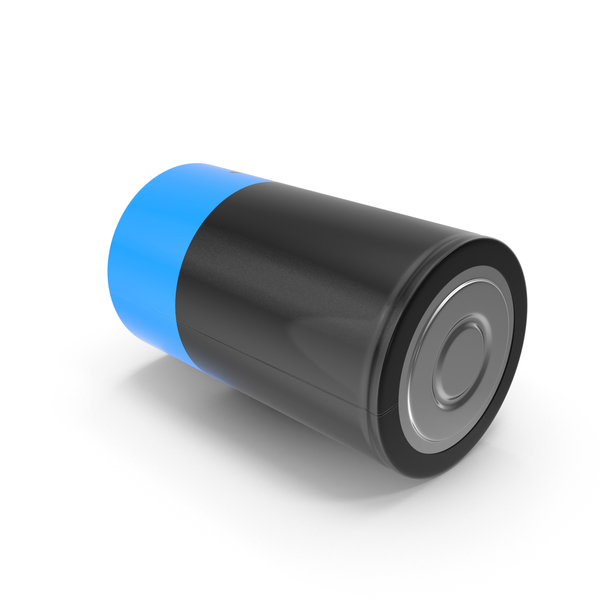 D Battery Side PNG & PSD Images