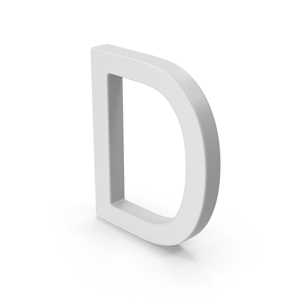 D Letter PNG & PSD Images