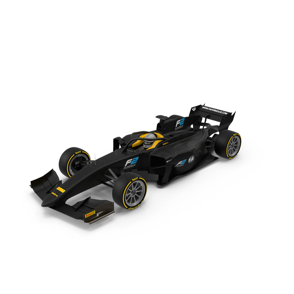 Race Car: Dallara FIA Formula 2 PNG & PSD Images