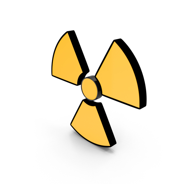 Radioactive Logo: Danger Sign Radiation PNG & PSD Images