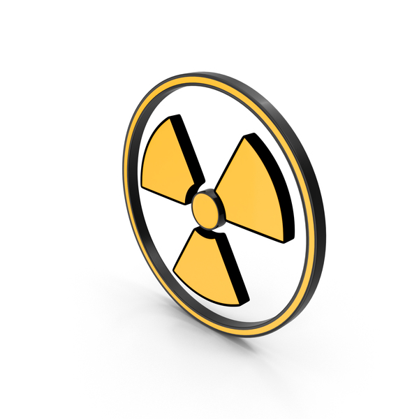Symbol: Danger Sign Radiation PNG & PSD Images