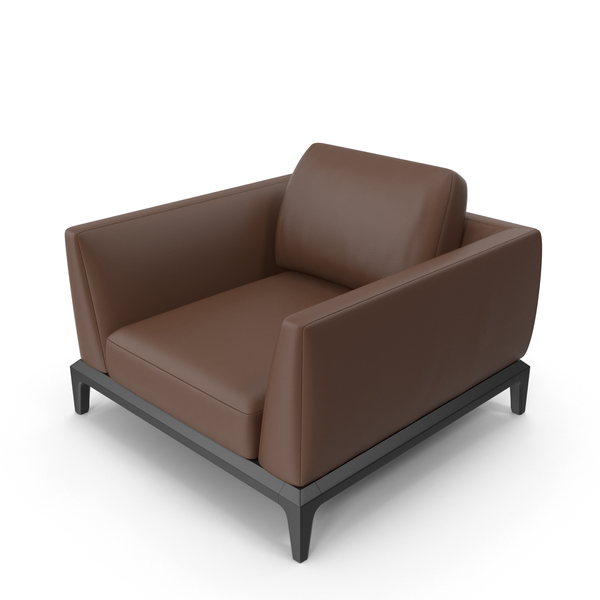 Dark Brown Office Chair PNG & PSD Images