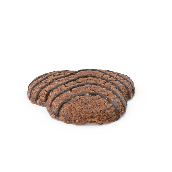 Dark Cookie With Chocolate PNG & PSD Images