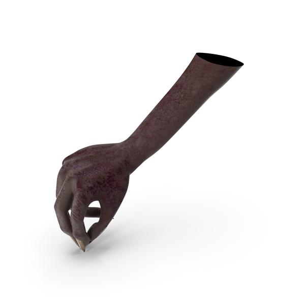Dark Creature Hand Pouring Pinch Pose PNG & PSD Images