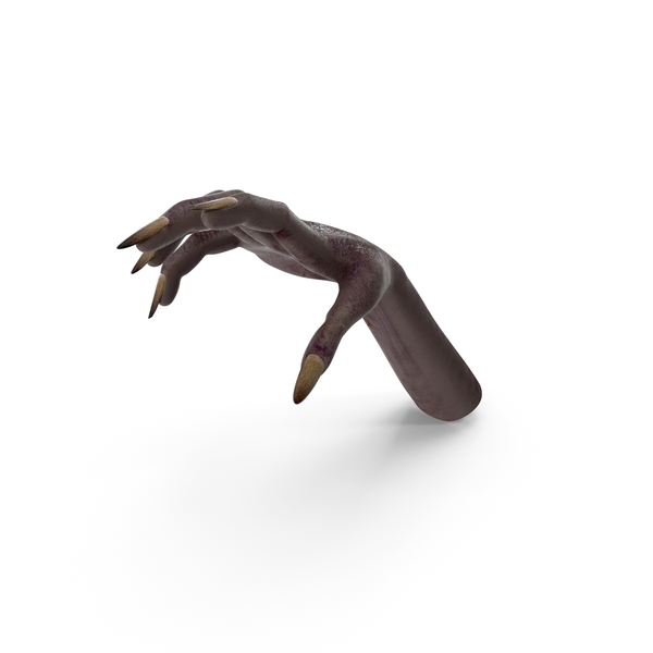 Dark Creature Hand Reaching PNG & PSD Images