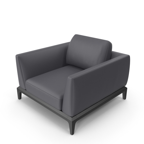 Dark Grey Office Chair PNG & PSD Images