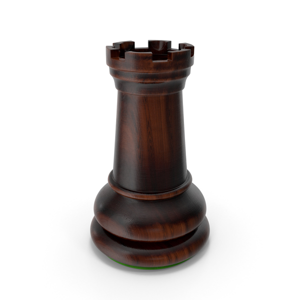 Chess: Dark Rook Green PNG & PSD Images