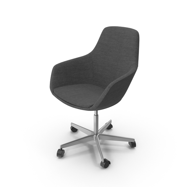 Dark Swivel Chair PNG & PSD Images