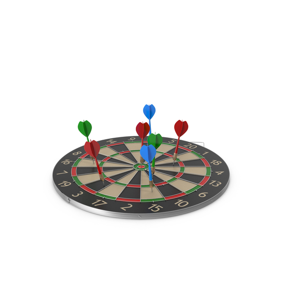 Dartboard on Side PNG & PSD Images