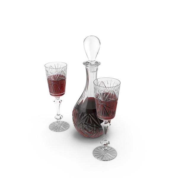 Decanter Set Object