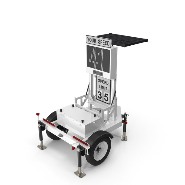 Decatur Speed Radar Trailer 300MX PNG & PSD Images
