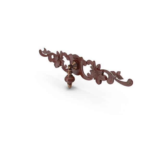 Doorknob: Decorated Knob PNG & PSD Images
