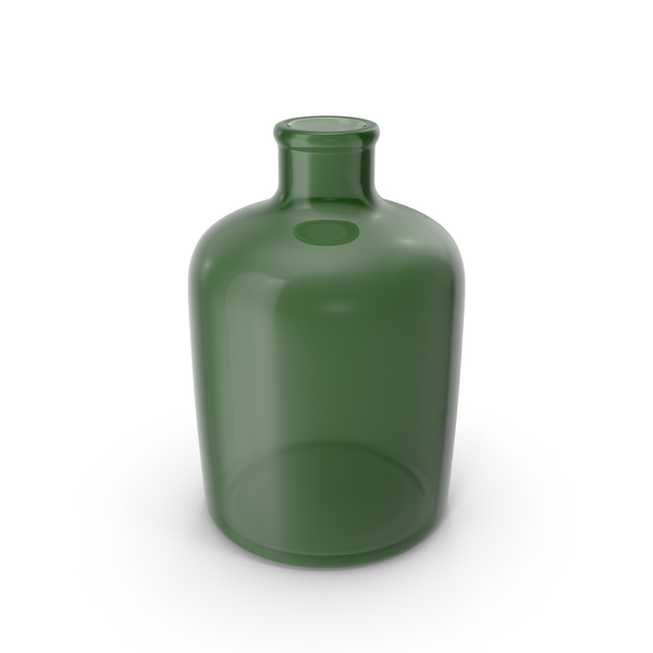 Vase: Decorative Glass Bottle PNG & PSD Images
