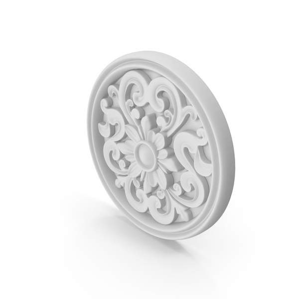 Decorative Medallion PNG & PSD Images