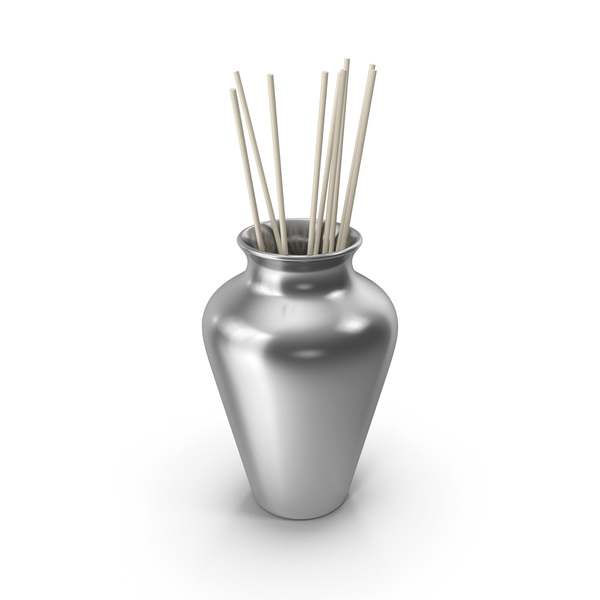 Vase: Decorative Pottery Silver PNG & PSD Images