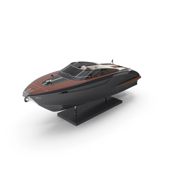 Decorative Riva Rivamare Speed Boat PNG & PSD Images