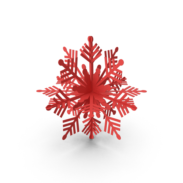 Decorative Snowflake Object