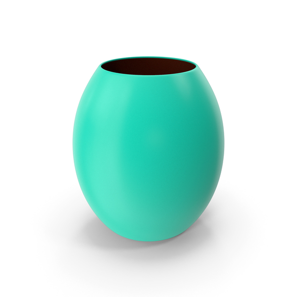 Decorative Vase Green Blue PNG & PSD Images