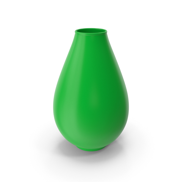 Decorative Vase Green PNG & PSD Images