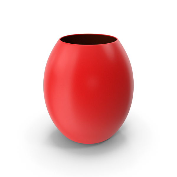 Decorative Vase Red PNG & PSD Images